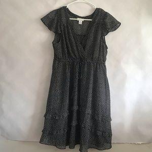 Motherhood black maternity dress size large